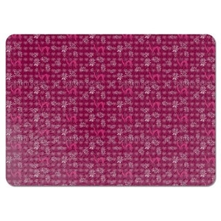 Daisy Flowers Purple Placemats (Set of 4)