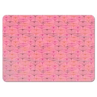 Heart Lantern Pink Placemats (Set of 4)