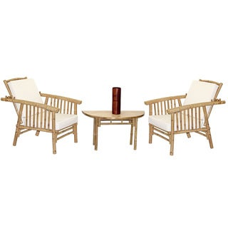 4 Piece Mikong Chairs and Semi Round Table Set (Vietnam)