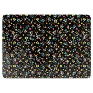 Tingel Tangle Black Placemats (Set of 4)