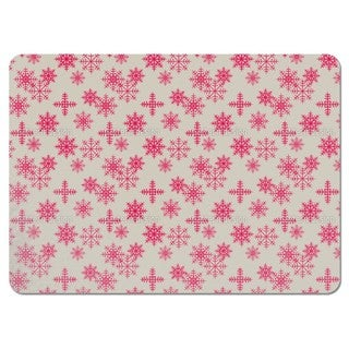 Ice Crystals Pink Placemats (Set of 4)
