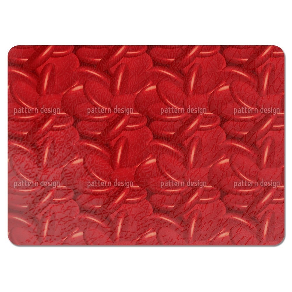 Uneekee Blood Cells Placemats (Set of 4) (Blood Cells Pla...
