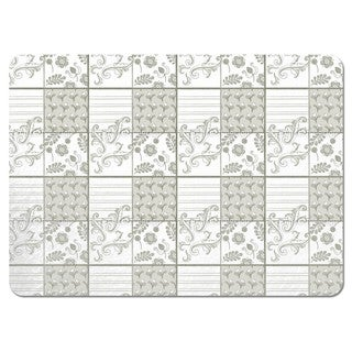Art of Painting Grey Placemats (Set of 4)