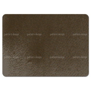 Scale Skin Brown Placemats (Set of 4)
