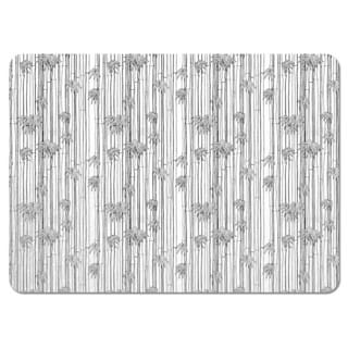 Bamboli Black and White Placemats (Set of 4)