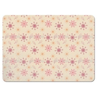 Dancing Flakes Apricot Placemats (Set of 4)