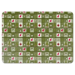 Christmas Dream Green Placemats (Set of 4)
