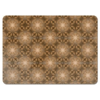 Leaf in Brown Placemats (Set of 4)