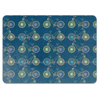 Whimsical Bicycles Placemats (Set of 4)