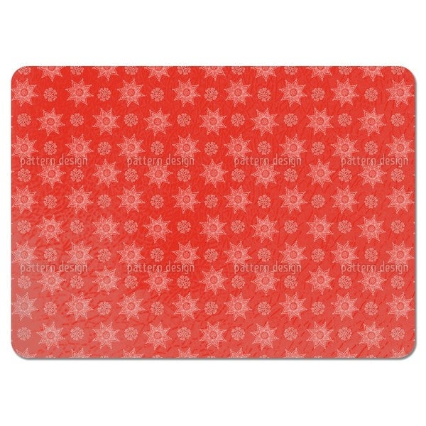 Indian Flower Christmas Placemats (Set of 4)