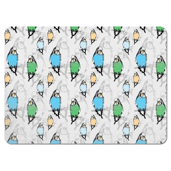 Budgies Placemats (Set of 4)