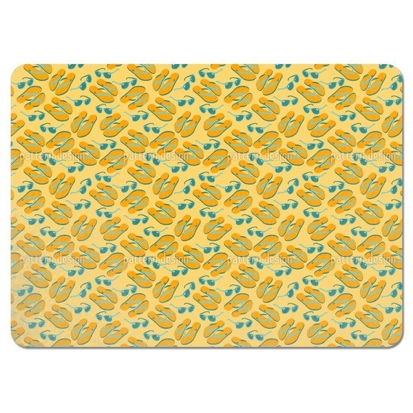 Flip Flops Placemats (Set of 4)