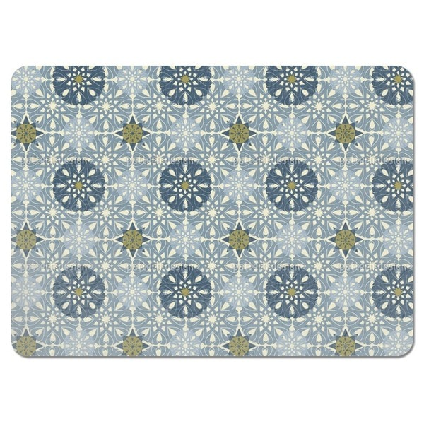 Gilt Snowflakes Placemats (Set of 4)
