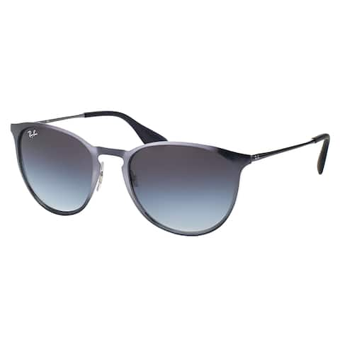 Ray-Ban Erika Metallic Grey Metal Gradient Sunglasses