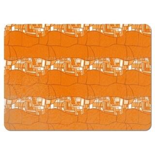 Stilismo Orange Placemats (Set of 4)