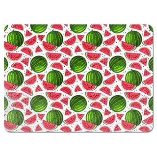 Juicy Watermelon Placemats (Set of 4)