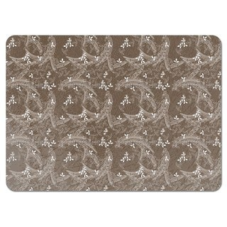 Buschklee Brown Placemats (Set of 4)