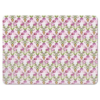 Tulips and Carnations Pink Placemats (Set of 4)