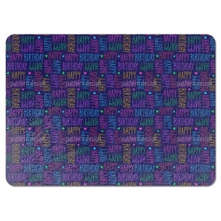 Birthday Greetings Placemats (Set of 4)