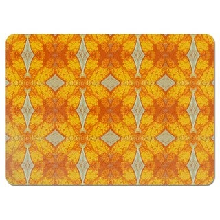 Checks in Gold Rush Placemats (Set of 4)