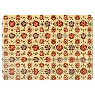 Wall Flower Damask Placemats (Set of 4)