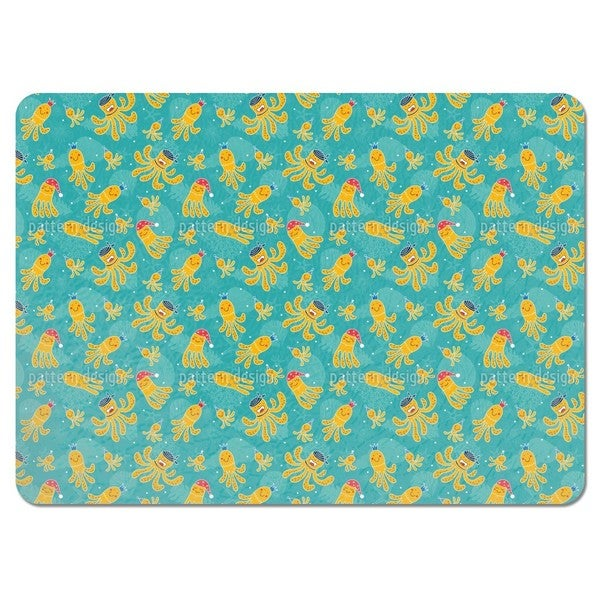 Shop Octopus Garden Placemats (Set of 4) - Free Shipping Today ...