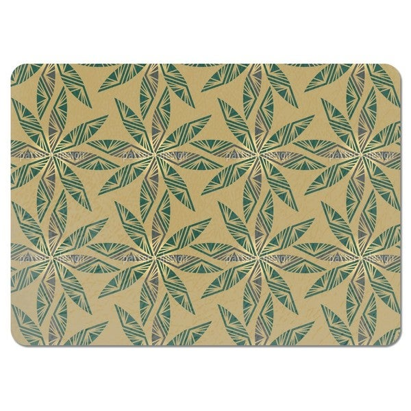 Shiny Leaves Placemats (Set of 4)
