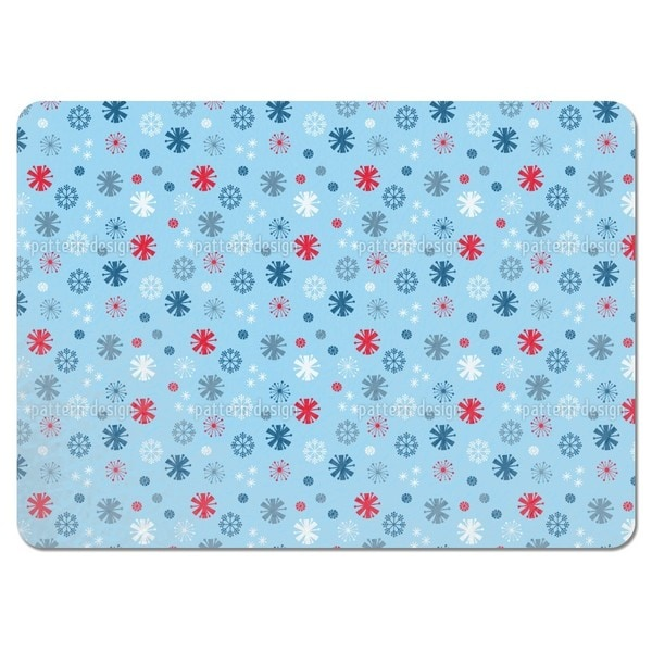 Snowflake Blues Placemats (Set of 4)