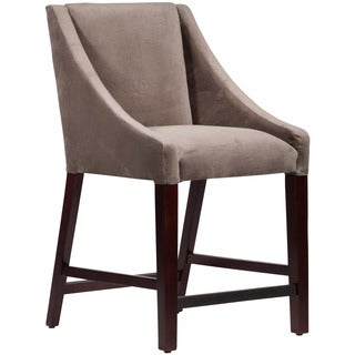 Skyline Furniture Skyline Regal Smoke Swoop Counter Stool