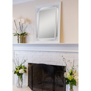 Argyle White Mirror