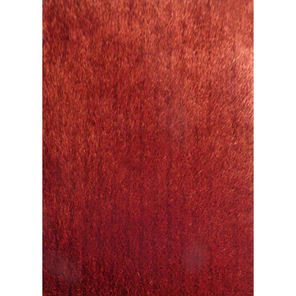 Shop Soft Shaggy Rug Runner Featuring Vibrant Color Way Of Red Brown