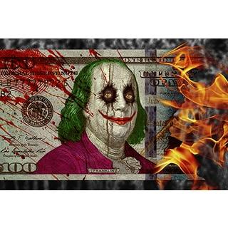 Daveed Benito '$100 Joker' Giclee Art Print