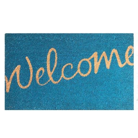 Buy Coir Door Mats Online at Overstock | Our Best Decorative