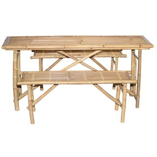 3 Piece Folding Picnic Table and Bench Set (Vietnam)