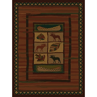 Ridgeland Moose Lodge Accent Rug (1'10 x 3')