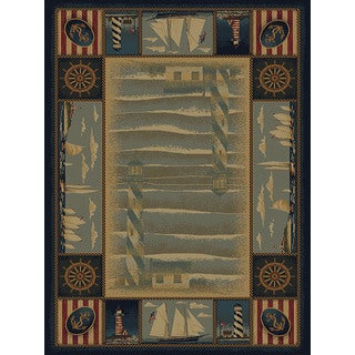 Ridgeland Sailor's Border Accent Rug (1'10 x 3')