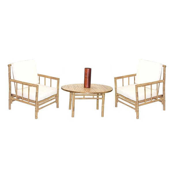Shop Handmade 4 Piece Chai Chair And Round Table Set