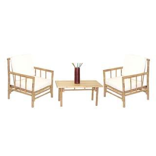 Handmade 4 Piece Chai Chairs and Rectangular Table Set (Vietnam)