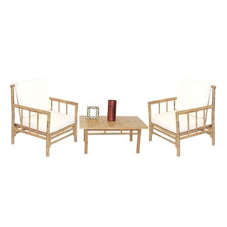Handmade 5 Piece Chai Chairs with Square Table Set (Vietnam)