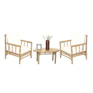 5 Piece Chai Chairs and Oval Table Set (Vietnam)