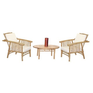 4 Piece Mikong Chairs with Round Table Set (Vietnam)