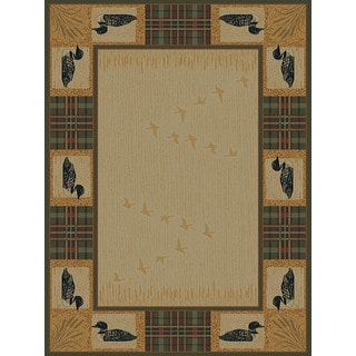 Ridgeland Duck Border Accent Rug (1'10 x 3')