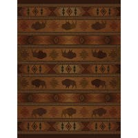 Ridgeland Buffalo Country Accent Rug - 1'10 x 3'1