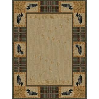 Ridgeland Duck Border Runner Rug (1'11 x 7' 4)