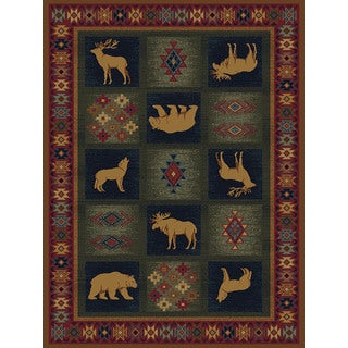 Ridgeland Animal Montage Runner Rug (1'11 x 7' 4)