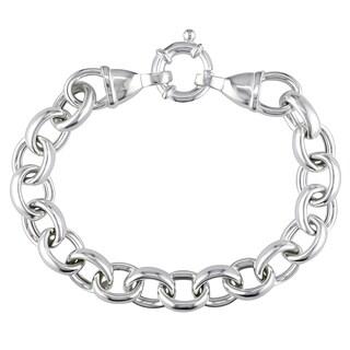 Silver Link Bracelet by Miadora