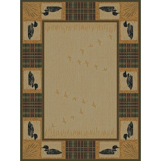 Ridgeland Duck Border Accent Rug (3'11 x 5'3)
