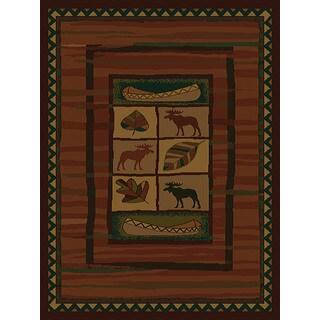 Ridgeland Moose Lodge Area Rug (5'3 x 7'6)