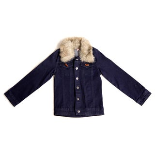 Girl's Traveler Blue Denim Jacket