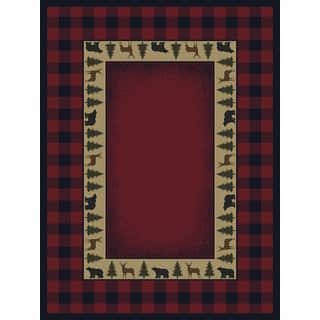 Ridgeland Buffalo Plaid Area Rug (5'3 x 7'6)|https://ak1.ostkcdn.com/images/products/12729158/P19508554.jpg?impolicy=medium